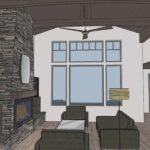 Tetherow Lot 171 – Rendering 013